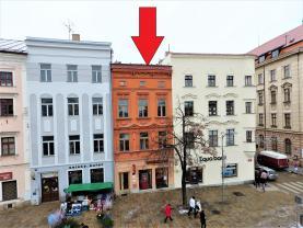 Pronájem, obchodní prostory, Jihlava, Masarykovo náměstí