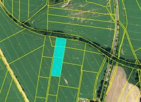 Prodej, orná půda, 4107 m2, Ujkovice