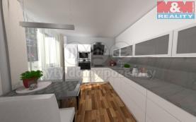 Prodej, byt 3+1, 75 m2, Břeclav