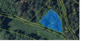 Prodej, pozemek, 802 m2, Nová Bystřice - Hradiště