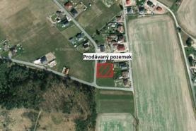 ortofoto pozemeku (Prodej, pozemek, 1107 m2, Čeperka), foto 2/10