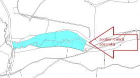 Prodej, les, louka, pole, 58564 m2, Dobročkov - Ktiš