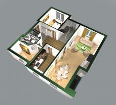 Prodej, byt 5+1, 280 m2, Vidov