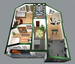 Prodej, byt 4+1, OV, 140 m2, Vidov