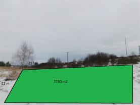 Prodej, louka, 3780 m2, Boskovice