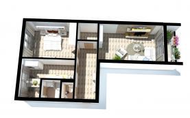 (Prodej, byt 2+1,60 m2, Hodonín, ul. Národní třída), foto 2/8
