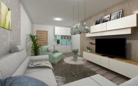 Prodej, byt 2+1, 60 m2, Hodonín, ul. Národní třída
