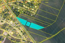 Prodej, stavební parcela, 1053 m2, Doksy u Kladna