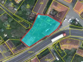 Prodej, stavební pozemek, 727 m2, Kasejovice