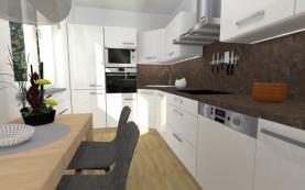 Prodej, byt 3+1, 75 m2, Přimětice