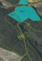 Mapa lesy (Prodej, les, 25332 m2, Holany), foto 4/7