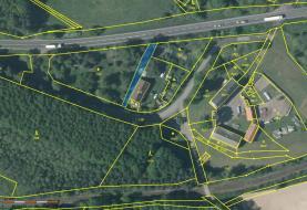 Katastrální snímek (Prodej, pozemek, 3395 m2, Holany - Hostíkovice), foto 2/5