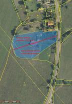 Možné rozdělení  (Prodej, stavební pozemek, 6313 m2, Volfartice), foto 4/13