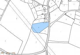 Mapa (Prodej, stavební pozemek, 6313 m2, Volfartice), foto 4/5