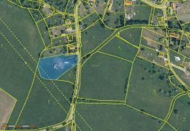 Mapa (Prodej, stavební pozemek, 6313 m2, Volfartice), foto 2/5