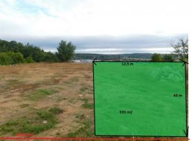 Prodej, stavební pozemek, 533 m2, Popůvky