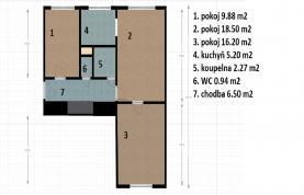 (Prodej, Byt 3+1, 62 m2, Praha 4 - Nusle.), foto 4/15