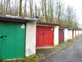 Prodej, garáž, 22 m2, Cheb - Hradiště