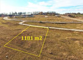 Prodej, stavení pozemek, 1181 m2, Mariánovice - Benešov