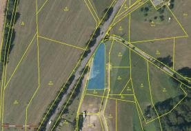 Prodej, stavební pozemek, 1243 m2, Nekoř