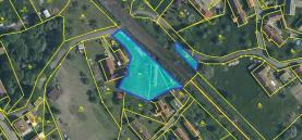 Prodej, stavební pozemek, 1521 m2, Ždírec - Myť