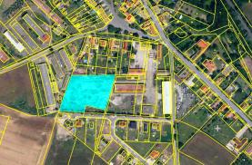 Prodej, stavební parcela, 6658 m2, Dušníky