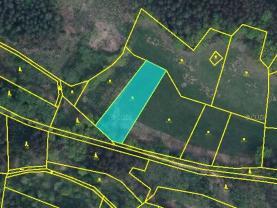 Prodej, louka, 2448 m2, Slatina