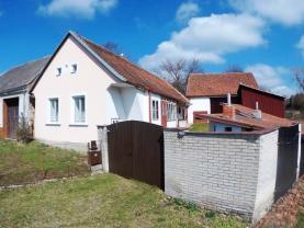 Prodej, rodinný dům 2+1, 55 m2, Rácovice