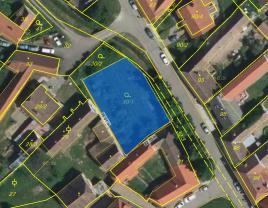 Prodej, pozemek, 718 m2, Hnanice