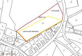 Prodej, orná půda, 8087 m2, Stará Oleška, Huntířov