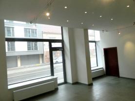 Pronájem, obchodní prostory, 124 m2, Brno, ul. M.Horákové