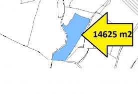 Prodej, les, 14625 m2, Maršov u Úpice