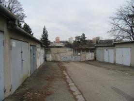Pronájem, garáž, 17 m2, Brno, ul. Fügnerova