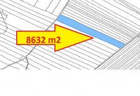 Prodej, pole, 8632 m2, Rakůvka u Prostějova