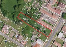 Prodej, stavební parcela, 1378 m2, Vrdy, Horní Bučice