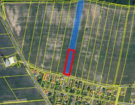 Prodej, pozemek, CP 6944 m2, Radimovice u Želče