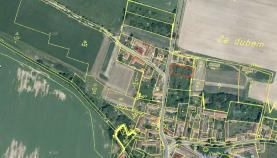Prodej, stavební pozemek, 1241 m2, Vlastec