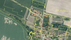 Prodej, stavební pozemek, 4576 m2, Vlastec