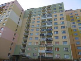 Pronájem, byt 1+1, 36 m2, OV, Chomutov, ul. Holešická