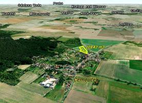 Prodej, stavební pozemek, 10842 m2, Černouček