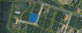 Prodej, stavební pozemek, 951 m2, Tatiná