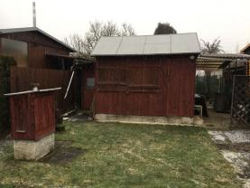 Prodej, zahrada s chatkou, 226m2, Zábřeh