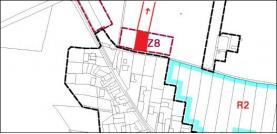 Prodej, Stavební parcela, 1150 m2, Tísek