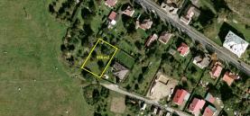 Prodej, stavební pozemek, 958 m2, Velká Hleďsebe