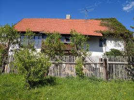 pohled dům (Prodej, chalupa, 852 m2, Hředle), foto 4/24
