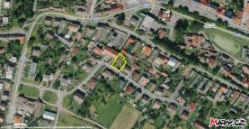 mapa (Prodej, stavební pozemek, 499 m2, Čistá, ul. Jižní), foto 2/6