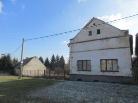 Prodej, rodinný dům 3+1, 1770 m2, Líšina u Stoda
