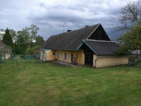 Prodej, rodinný dům 5+1, 6500 m2, Měčín - Bíluky
