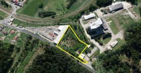 Prodej, komerční pozemek, 5466 m2, Kaplice - Nádraží