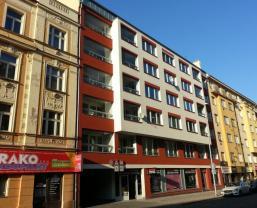 Pronájem, byt 1+kk, 32 m2, Praha 4 - Nusle